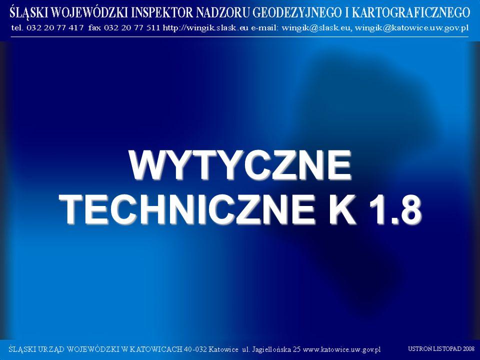 WYTYCZNE TECHNICZNE K 1.8