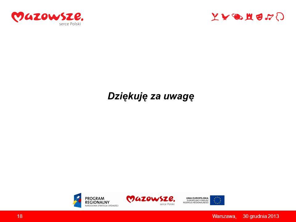 Dziękuję za uwagę Warszawa, 26 marca 2017