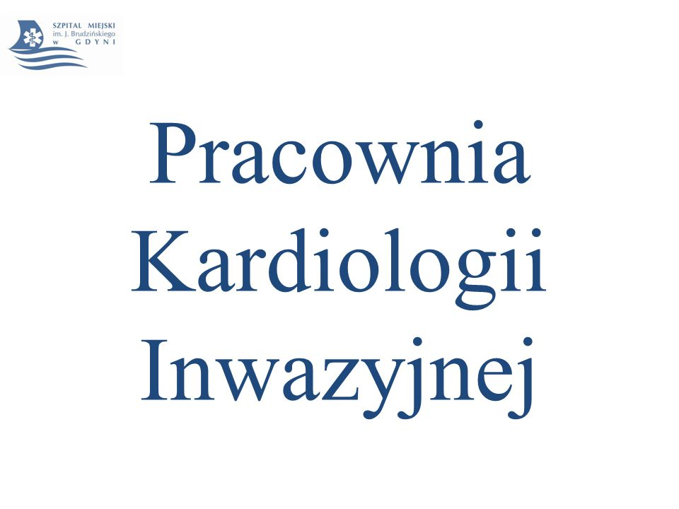 Pracownia Kardiologii Inwazyjnej