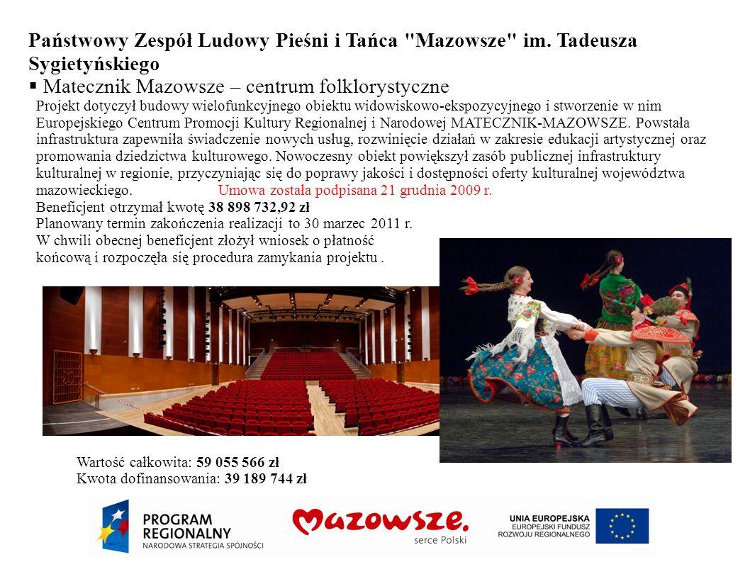 Matecznik Mazowsze – centrum folklorystyczne