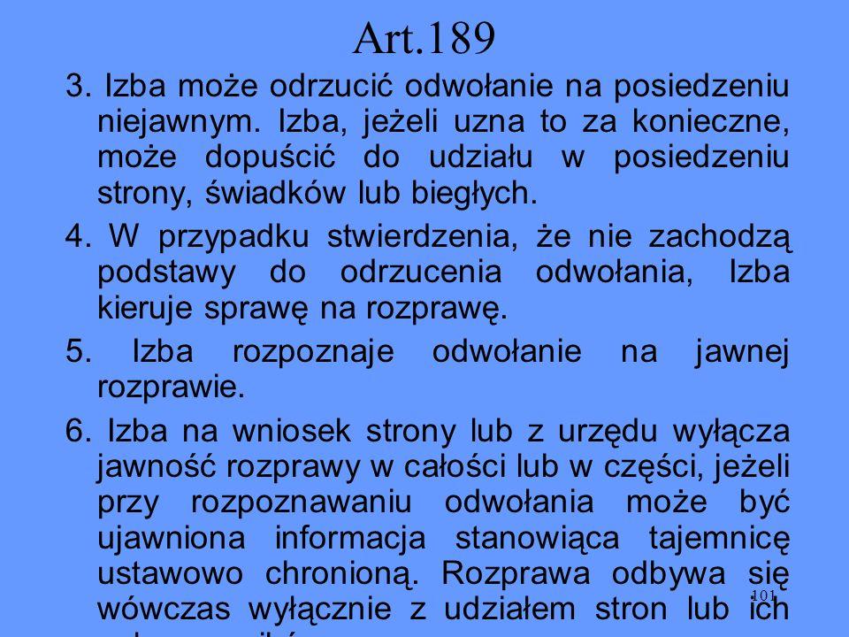 Art.189