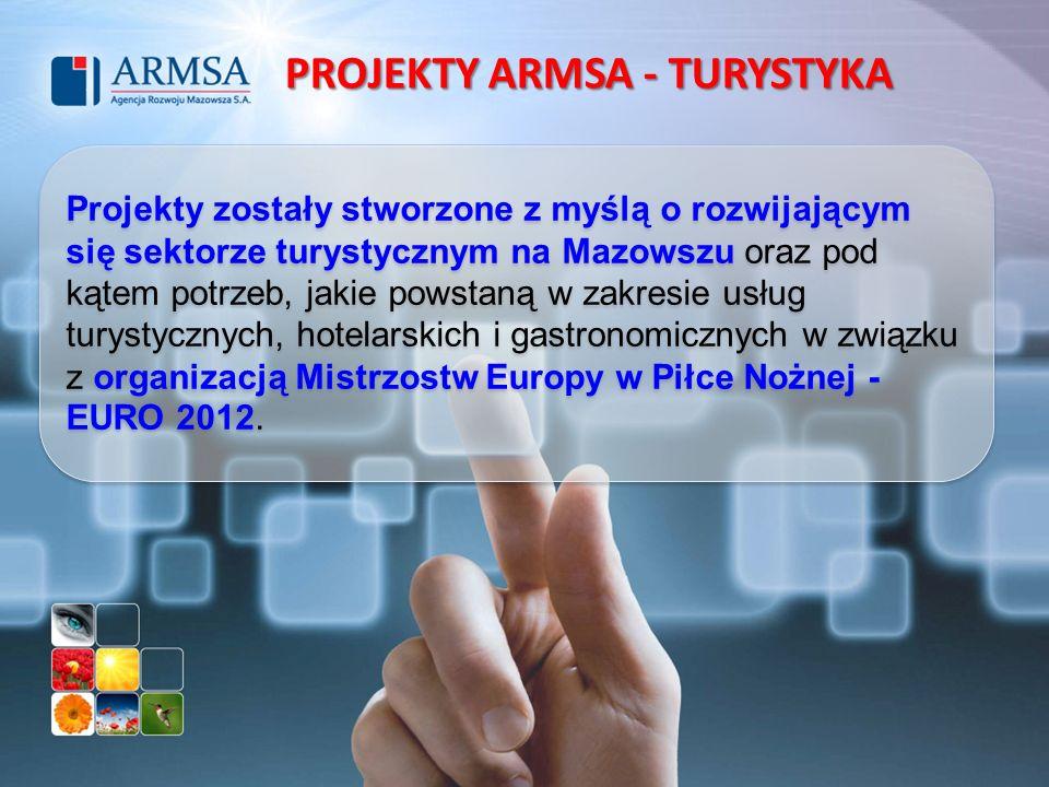 PROJEKTY ARMSA - TURYSTYKA