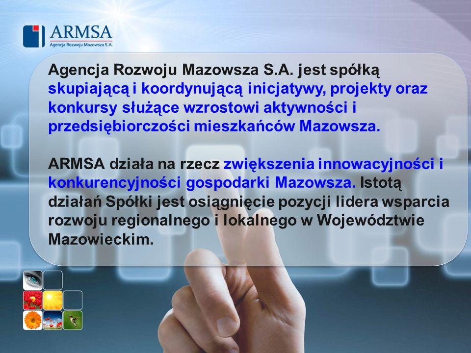 Agencja Rozwoju Mazowsza S. A