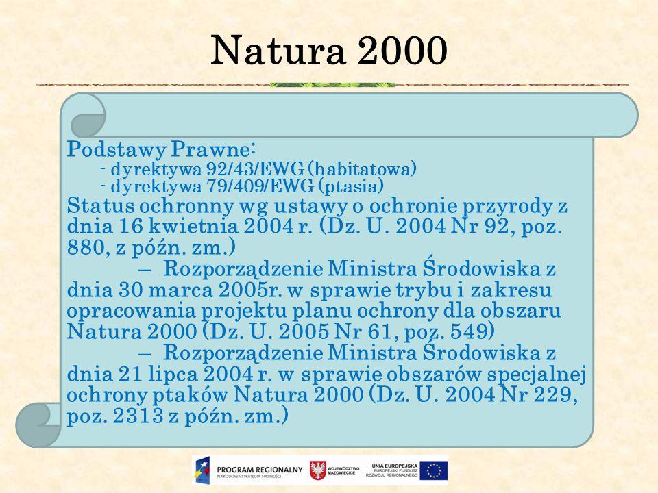 Natura 2000 Podstawy Prawne: