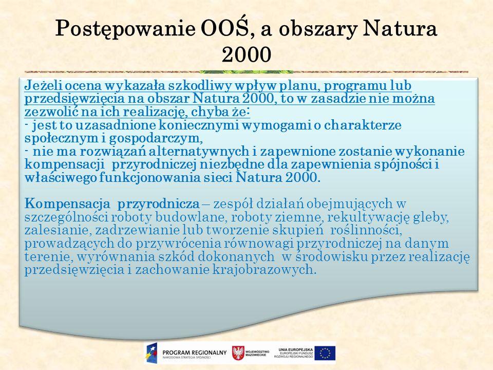 Postępowanie OOŚ, a obszary Natura 2000
