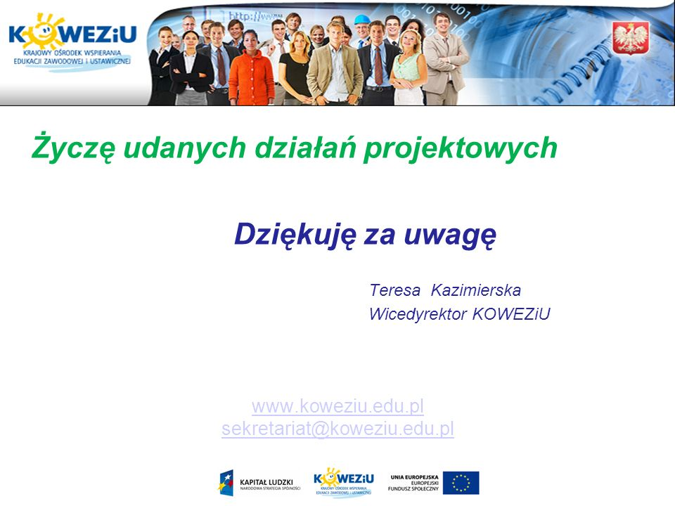 www.koweziu.edu.pl sekretariat@koweziu.edu.pl