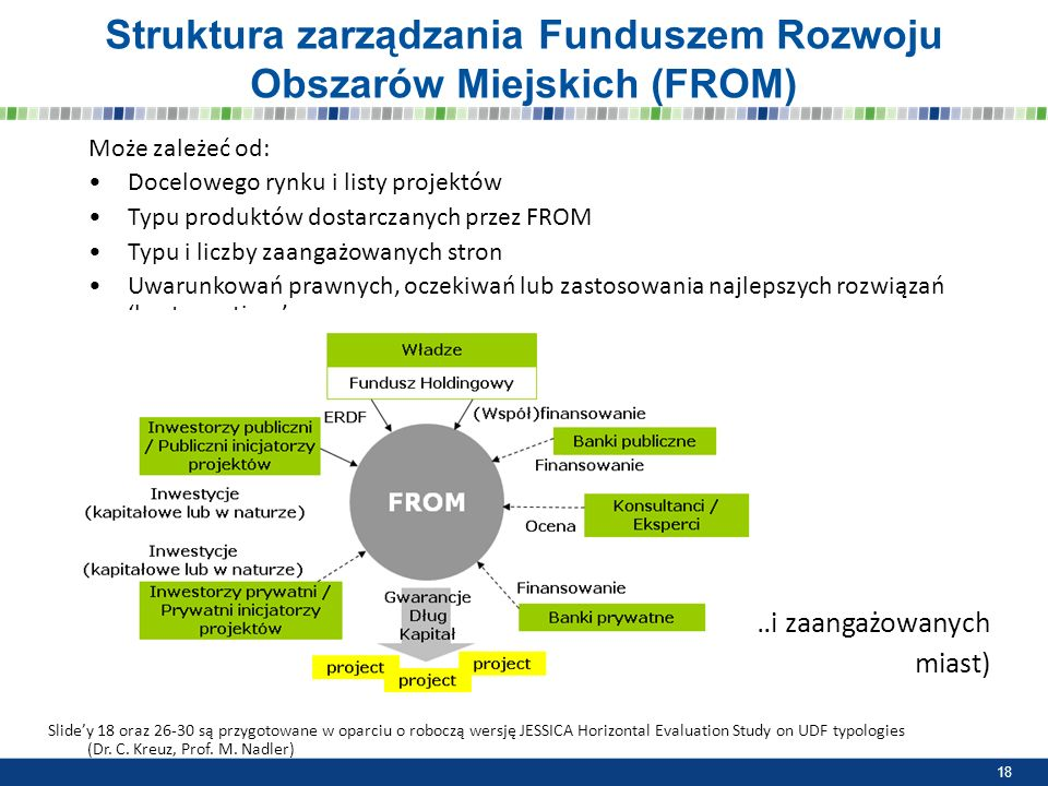 Struktura zarządzania Funduszem Rozwoju Obszarów Miejskich (FROM)