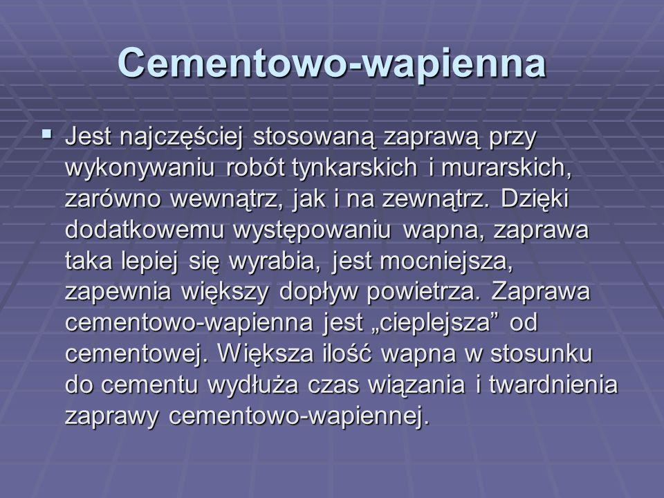 Cementowo-wapienna