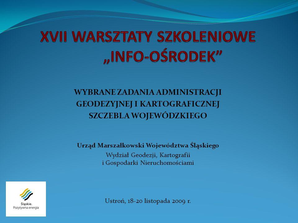 """XVII WARSZTATY SZKOLENIOWE """"INFO-OŚRODEK"""