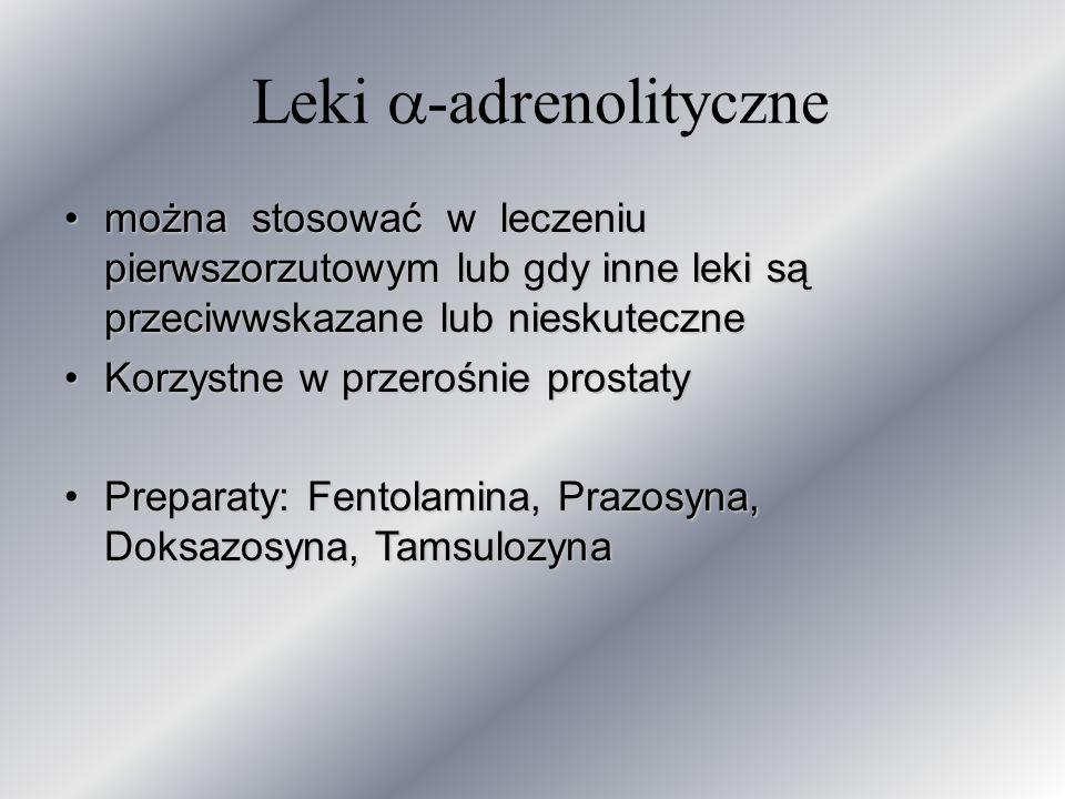 Leki -adrenolityczne