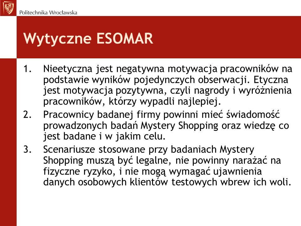 Wytyczne ESOMAR