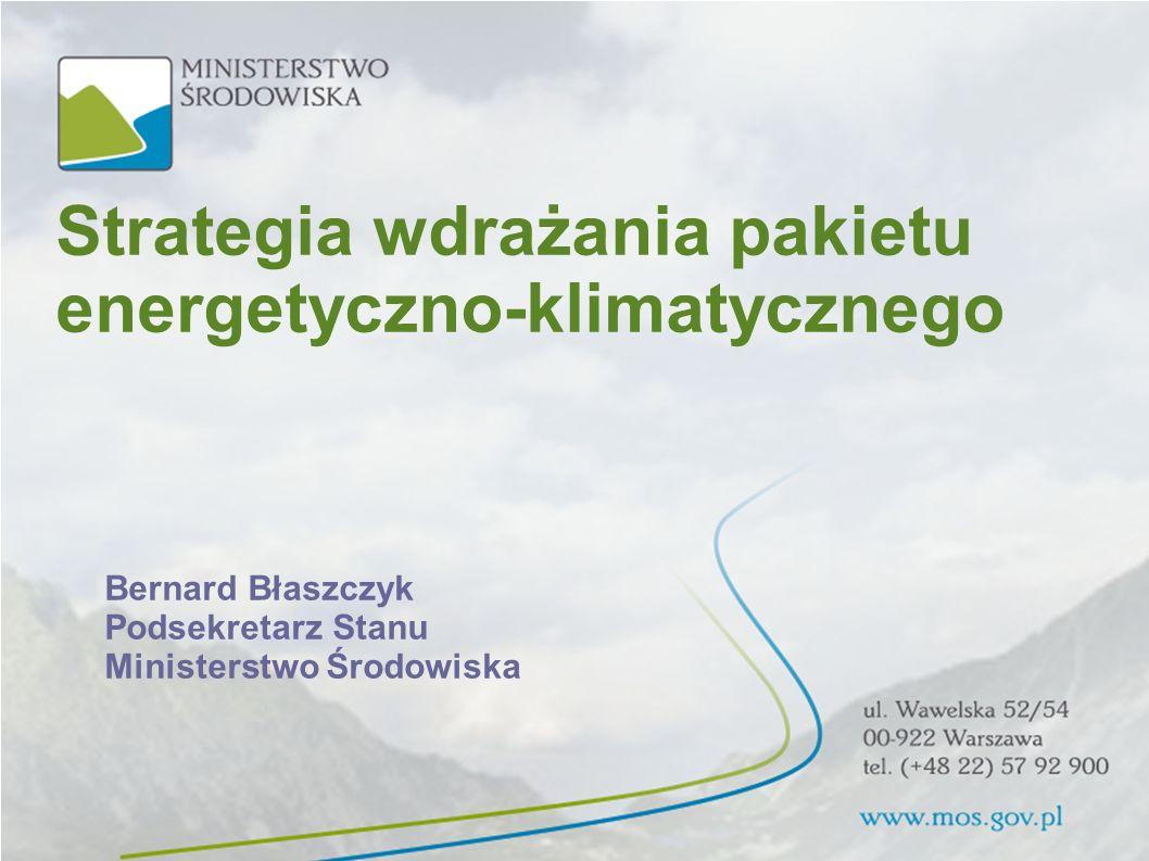 Strategia wdrażania pakietu energetyczno-klimatycznego