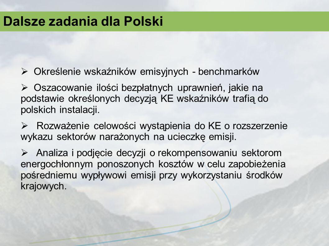 Dalsze zadania dla Polski