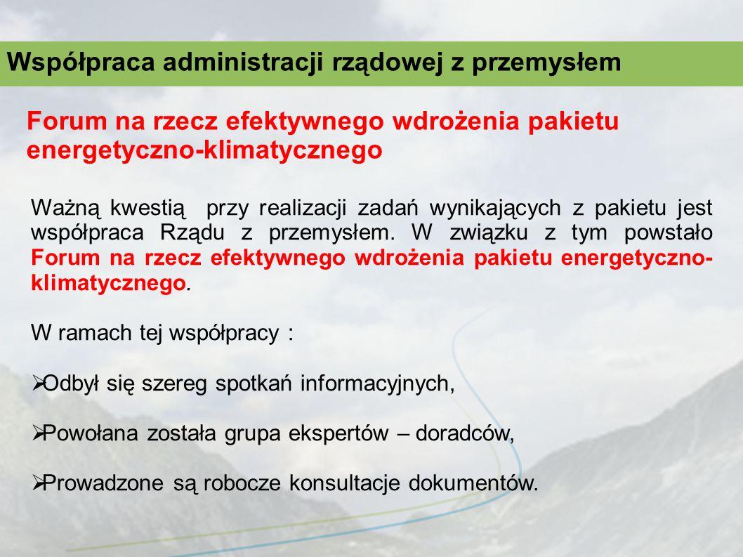 Współpraca administracji rządowej z przemysłem