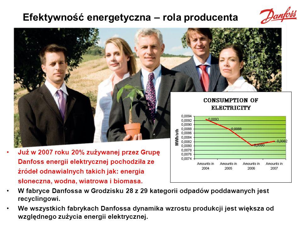 Efektywność energetyczna – rola producenta