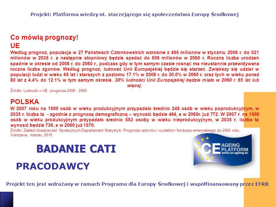 BADANIE CATI PRACODAWCY Co mówią prognozy! UE POLSKA 2