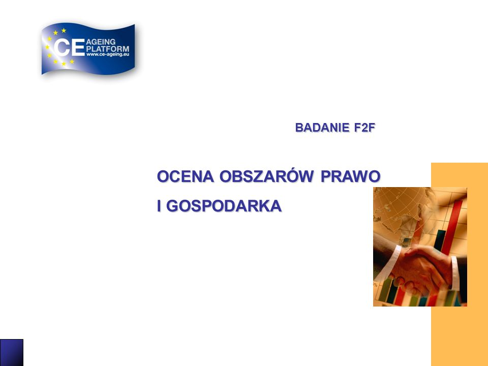 BADANIE F2F OCENA OBSZARÓW PRAWO I GOSPODARKA 12