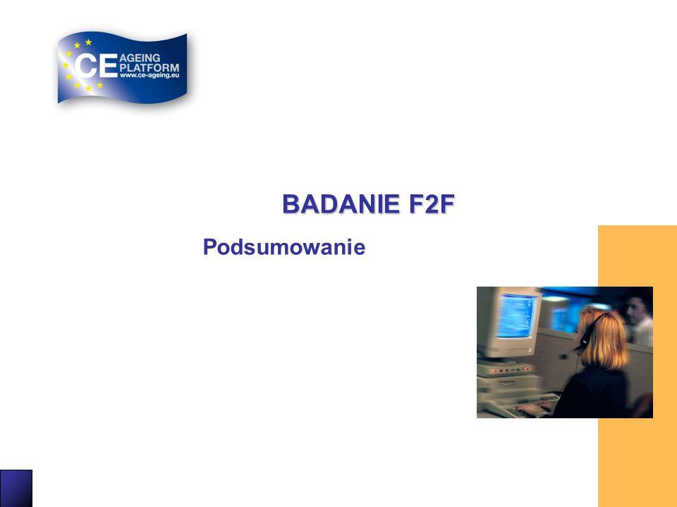 BADANIE F2F Podsumowanie 25