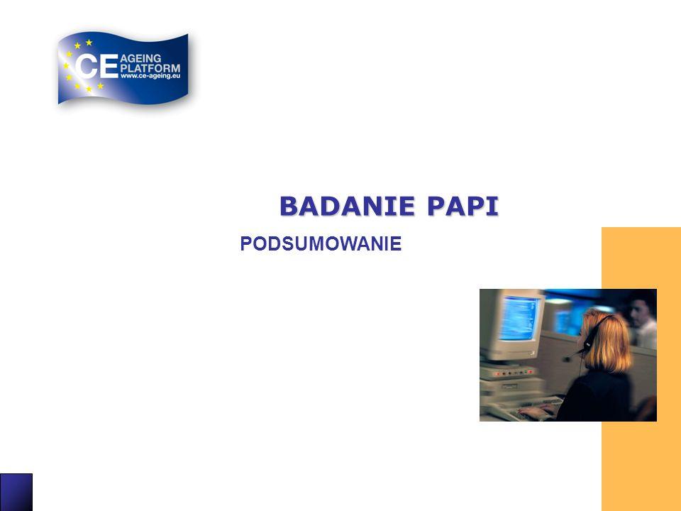 BADANIE PAPI PODSUMOWANIE 16 16