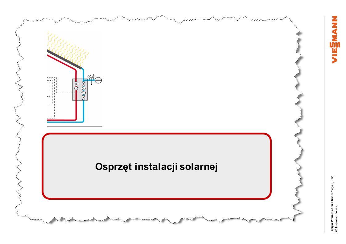 Osprzęt instalacji solarnej