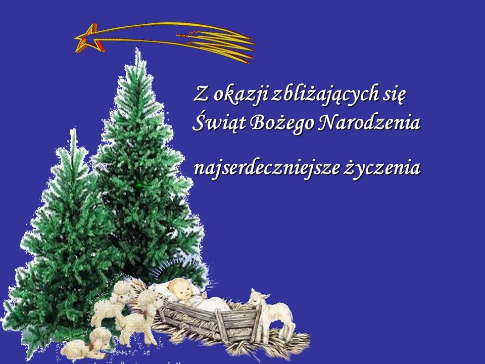 Z okazji zbliżających się Świąt Bożego Narodzenia