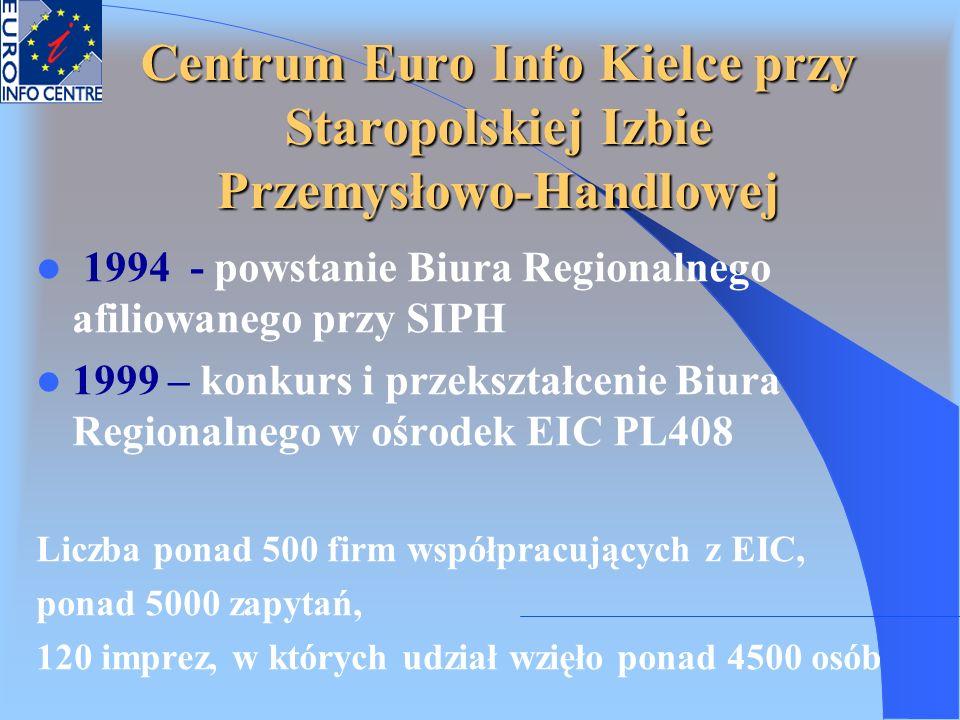 Centrum Euro Info Kielce przy Staropolskiej Izbie Przemysłowo-Handlowej