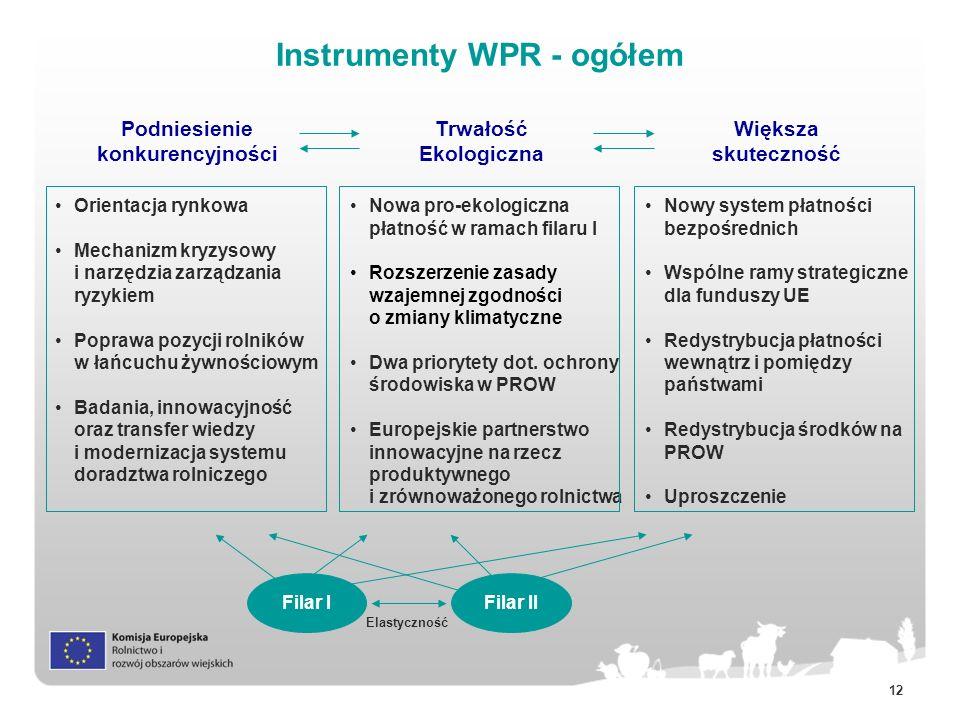 Instrumenty WPR - ogółem