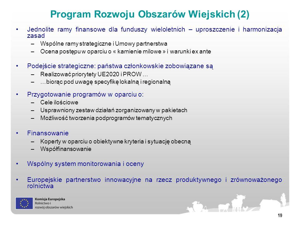Program Rozwoju Obszarów Wiejskich (2)