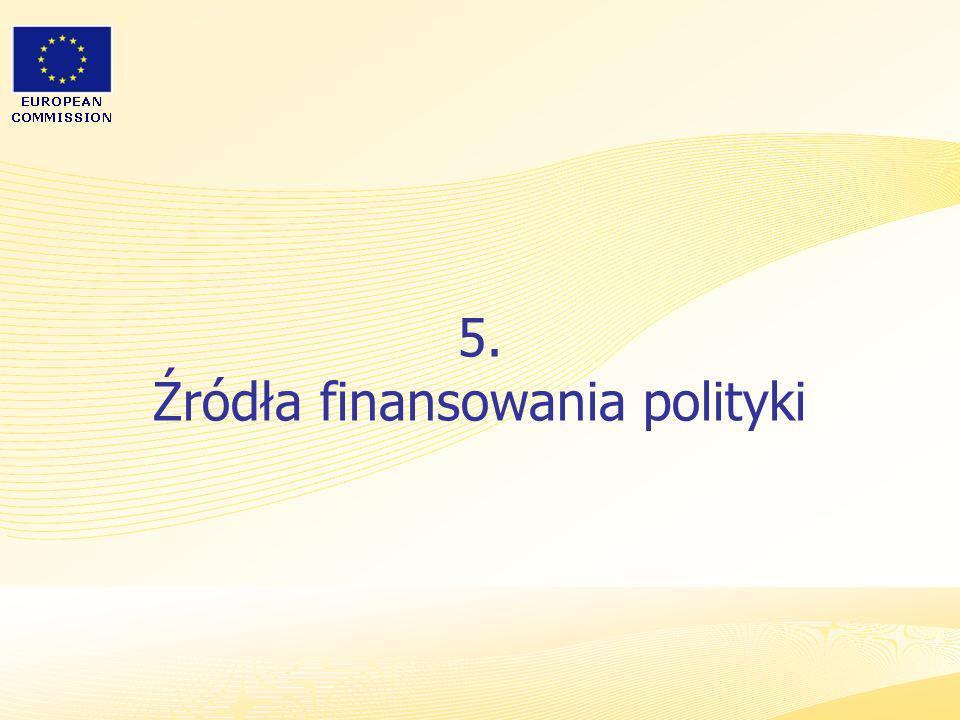 5. Źródła finansowania polityki