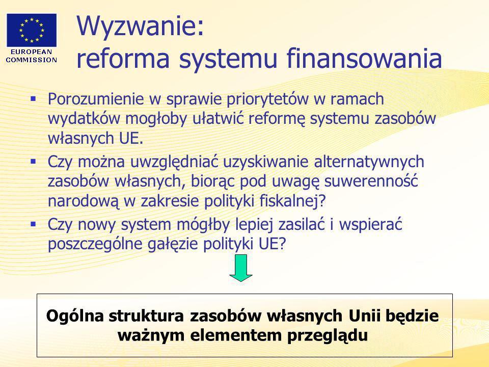 Wyzwanie: reforma systemu finansowania