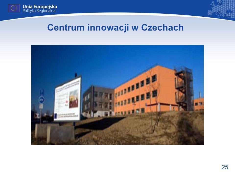 Centrum innowacji w Czechach