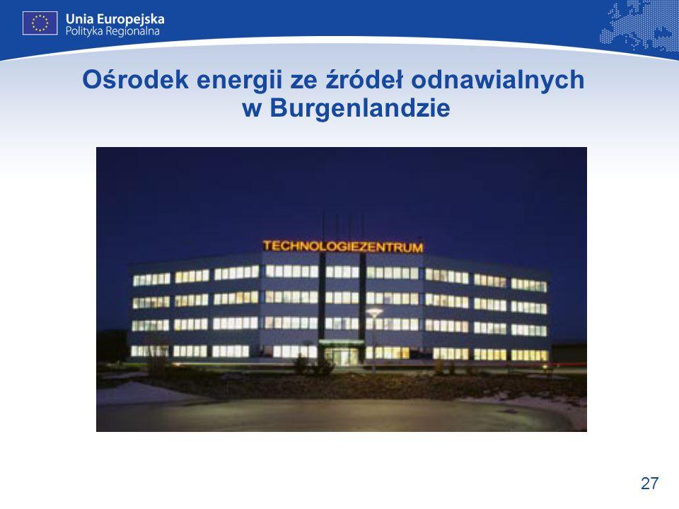 Ośrodek energii ze źródeł odnawialnych w Burgenlandzie