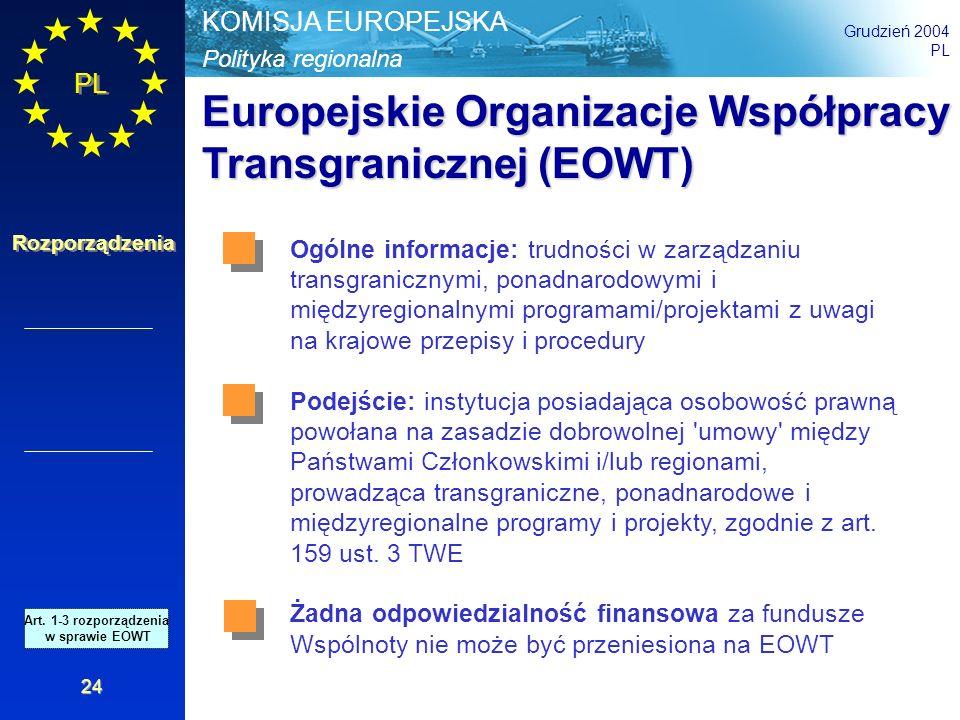 Europejskie Organizacje Współpracy Transgranicznej (EOWT)
