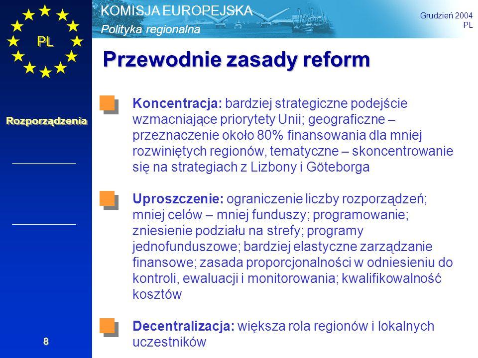 Przewodnie zasady reform
