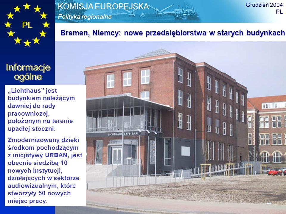 Bremen, Niemcy: nowe przedsiębiorstwa w starych budynkach