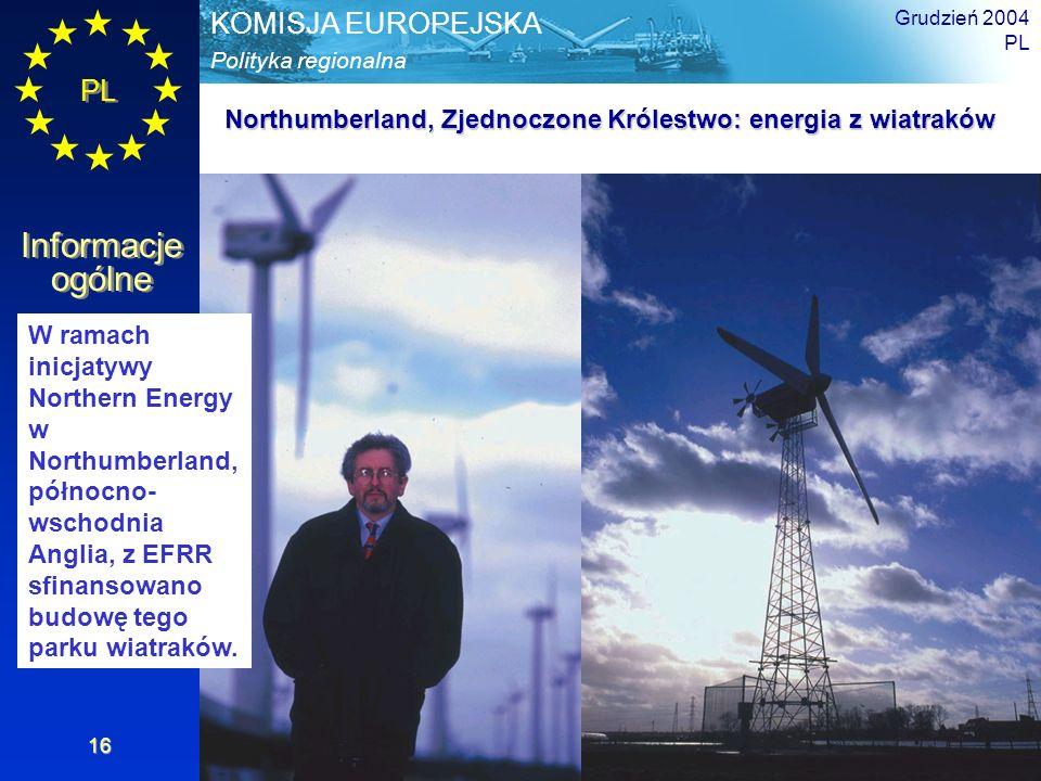 Northumberland, Zjednoczone Królestwo: energia z wiatraków