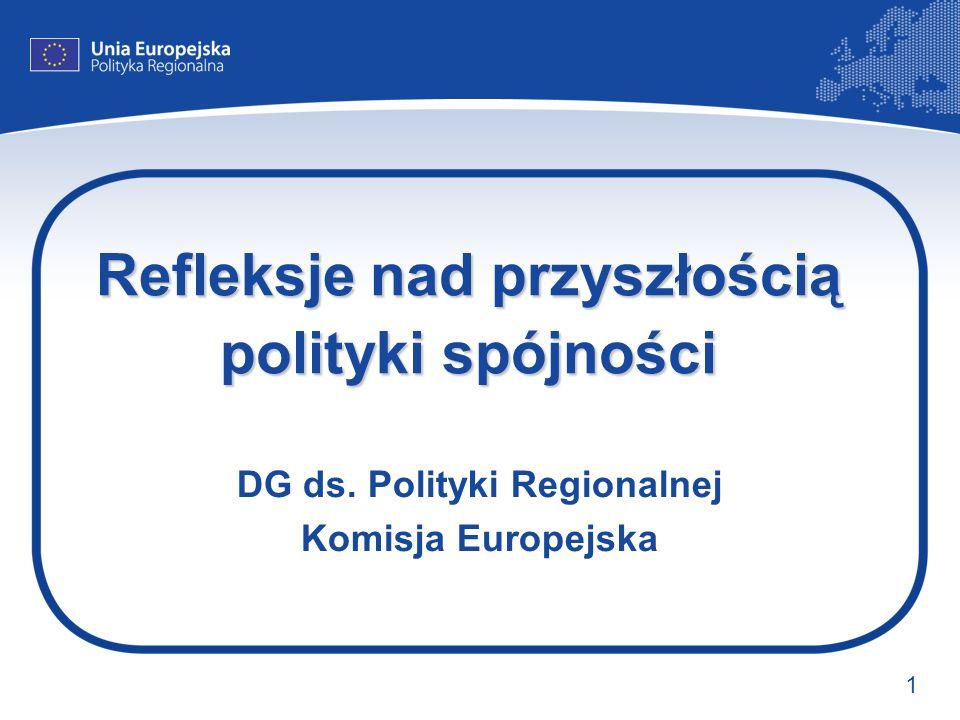 Refleksje nad przyszłością polityki spójności
