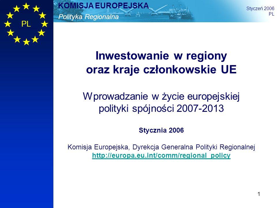 Inwestowanie w regiony oraz kraje członkowskie UE