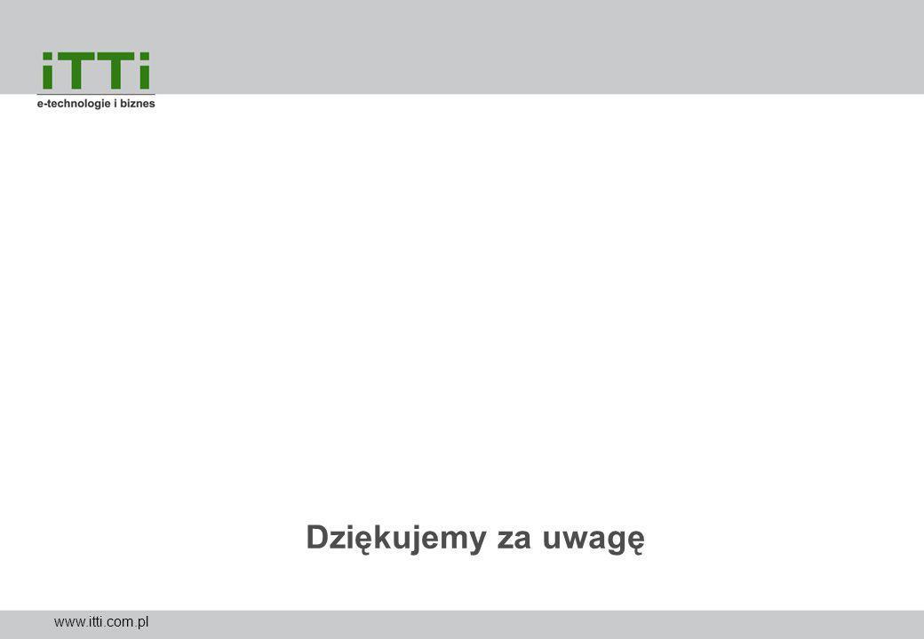 Dziękujemy za uwagę www.itti.com.pl