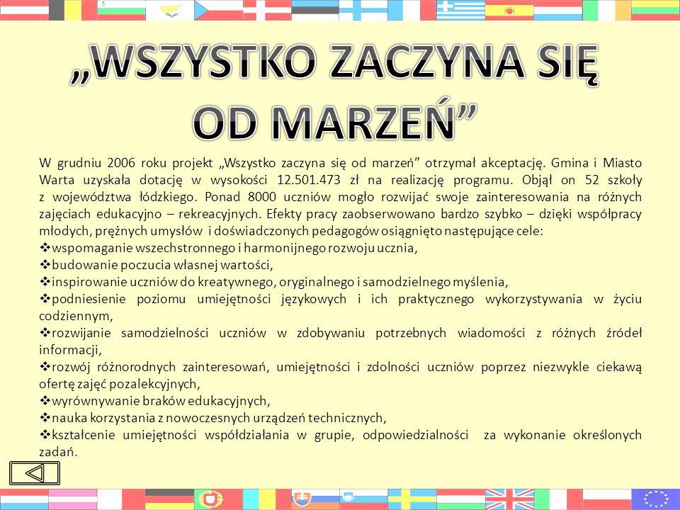 """""""WSZYSTKO ZACZYNA SIĘ OD MARZEŃ"""