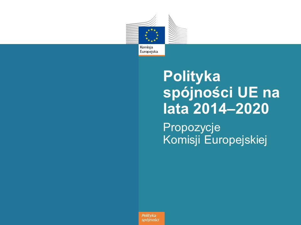 Polityka spójności UE na lata 2014–2020