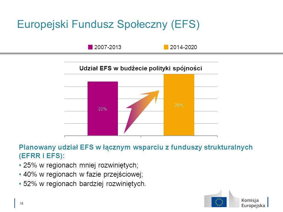 Europejski Fundusz Społeczny (EFS)