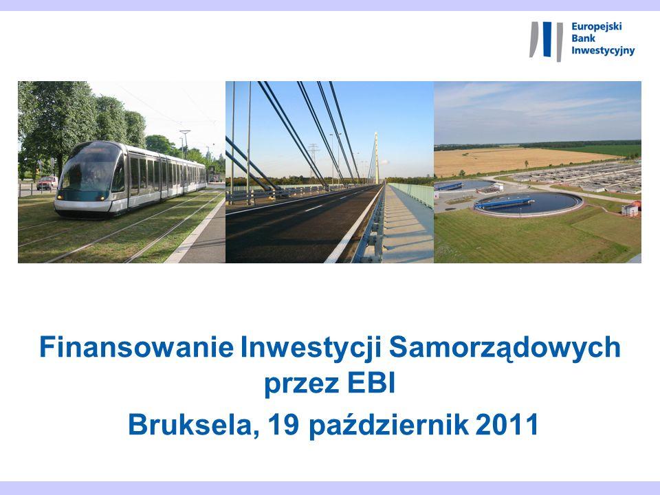 Finansowanie Inwestycji Samorządowych przez EBI