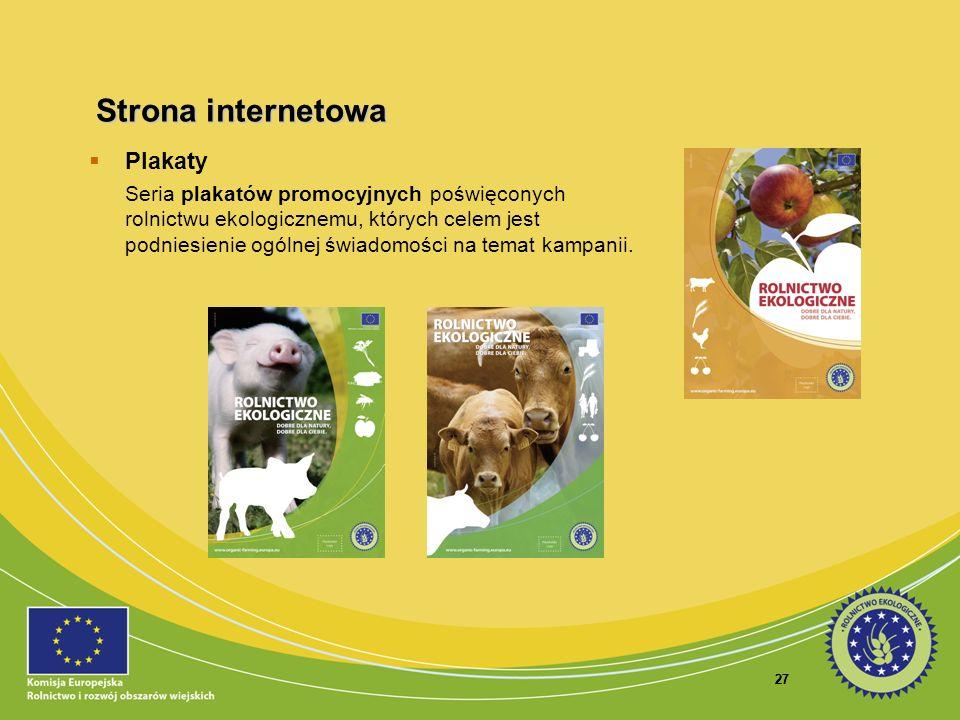 Strona internetowa Plakaty