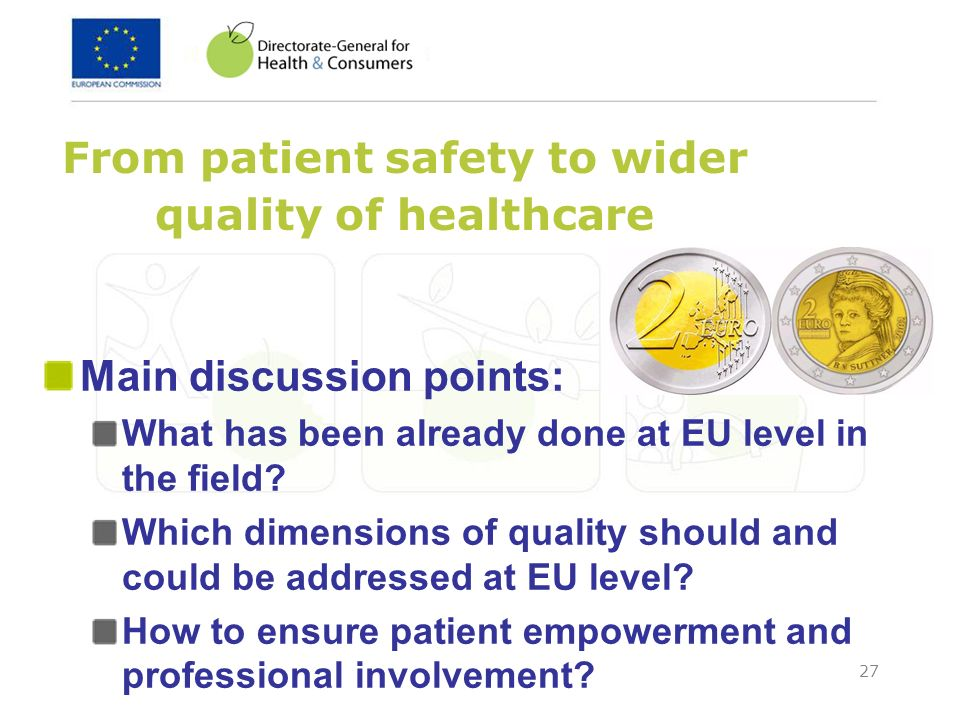 From patient safety to wider quality of healthcare