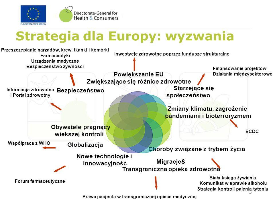 Strategia dla Europy: wyzwania
