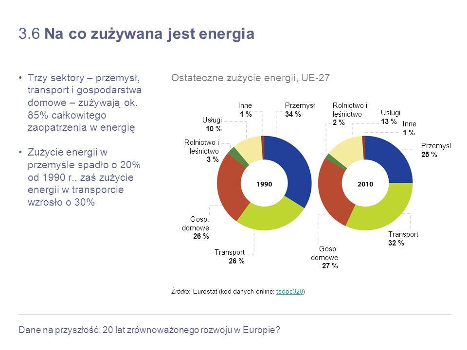 3.6 Na co zużywana jest energia
