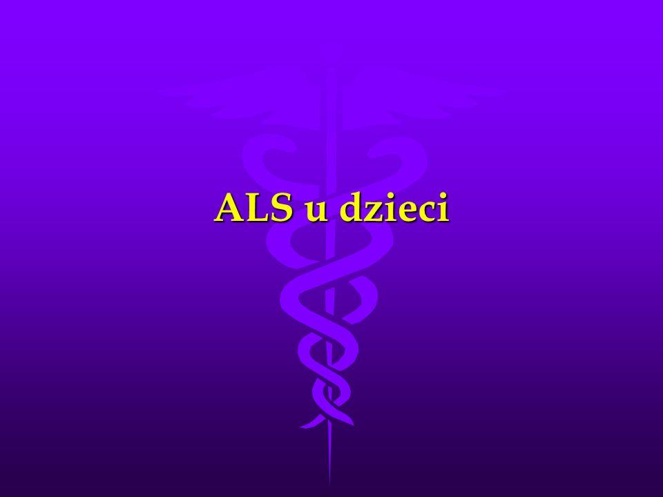 ALS u dzieci