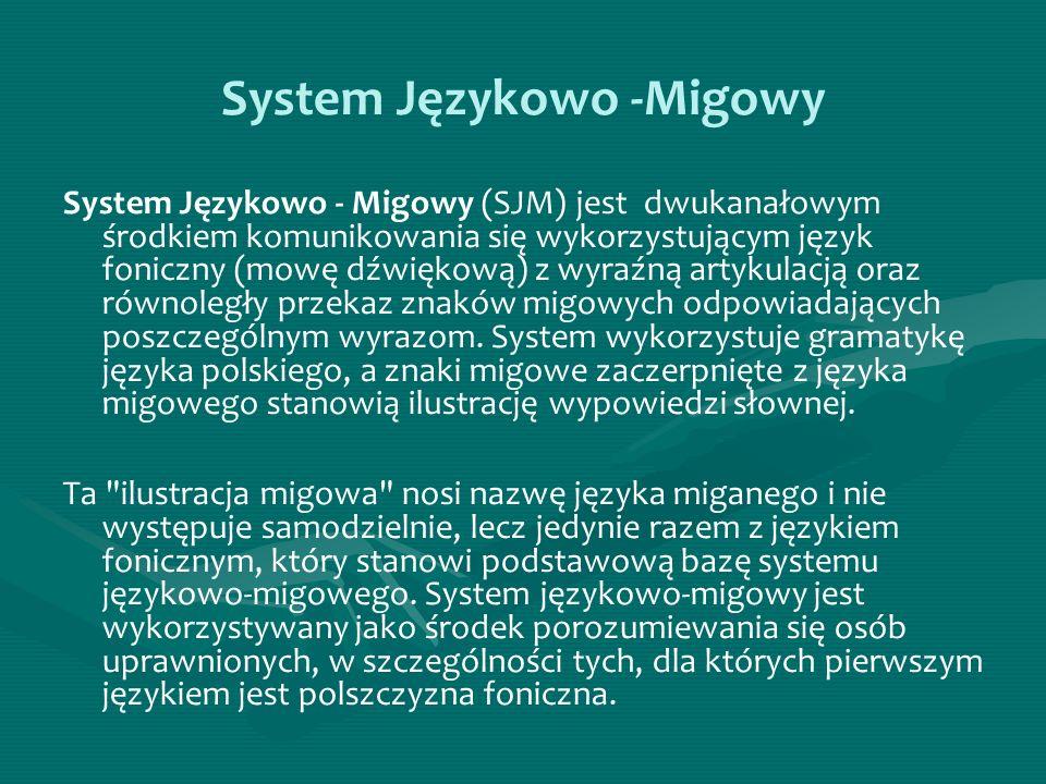 System Językowo -Migowy