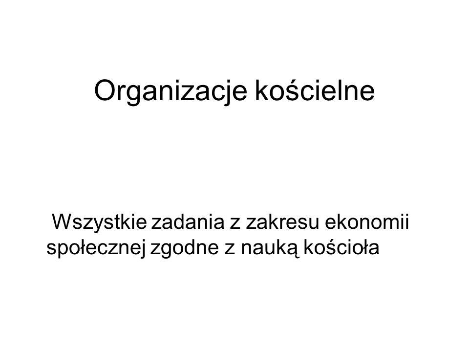 Organizacje kościelne